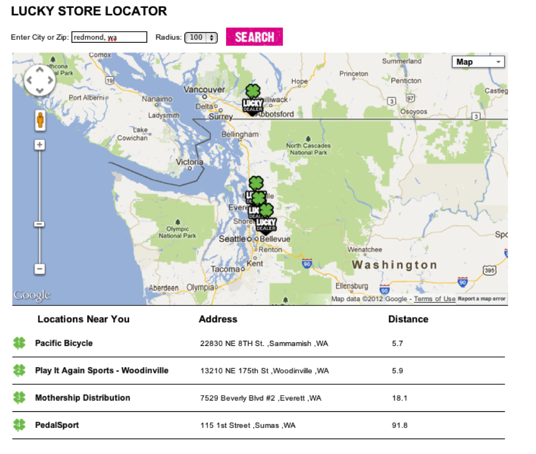 find a local lucky store