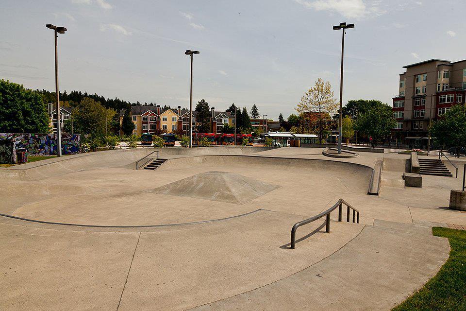 Redmond Skate Park Pro Scooter Riding