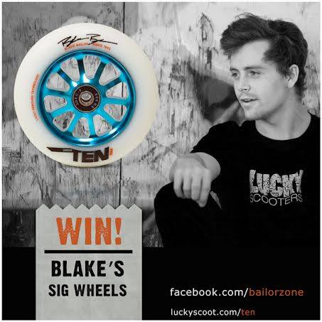 Lucky Scooters- Blake BAilor Signature Wheel
