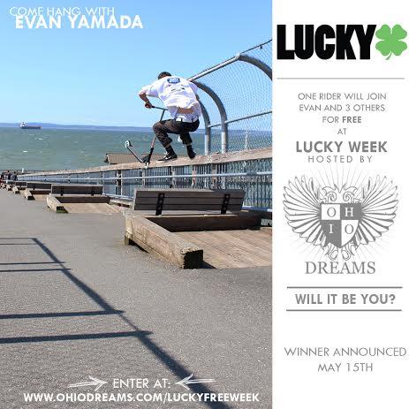 Lucky Scooters- Evan Yamada
