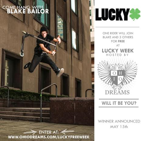 Lucky Scooters- Blake Bailor