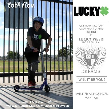 Lucky Scooters- Cody Flom